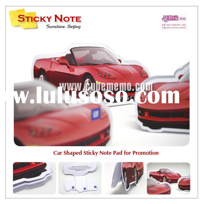 Car Shaped Sticky Note Pad/ Memo Pad/ Notepad for Promotion