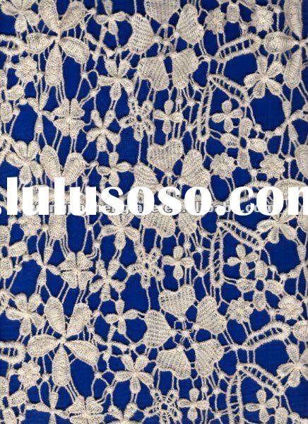 Chantilly lace fabric 10026