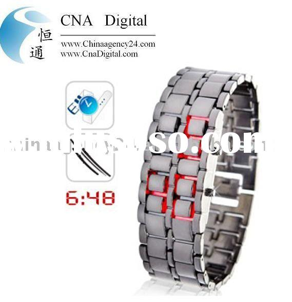 Cheap Japanese-inspired red LED digital watch from china dropshipper cnadigital.com