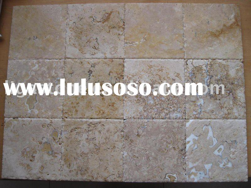 China Cheap Beige Antique Travertine Tiles