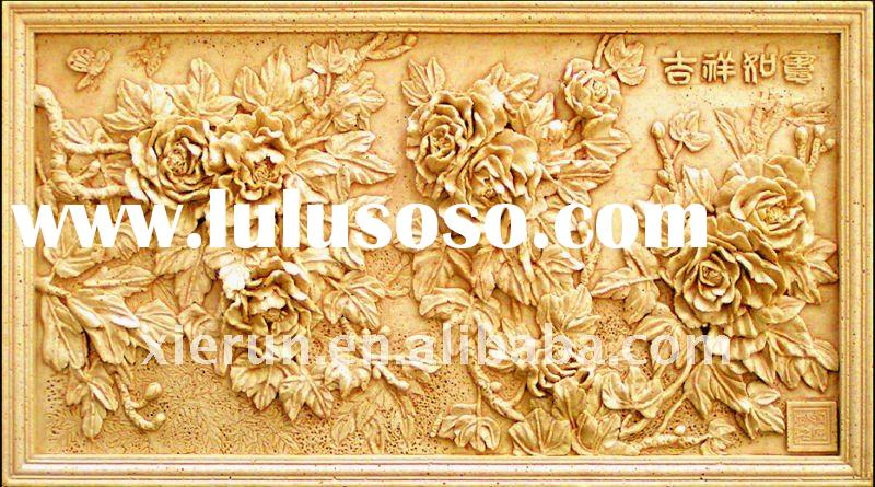 Chinese decorative artificial sandstone relief/carving/sculpture