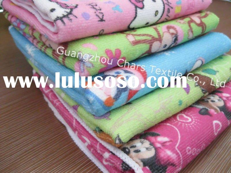 Colorful Printing Microfiber bath/beach Towel