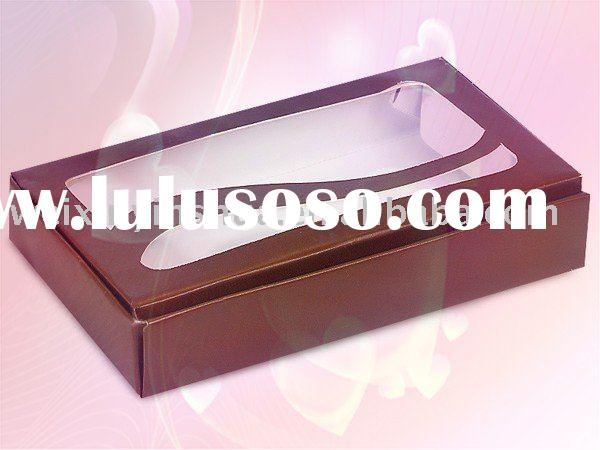 Cookie Box with clear PVC window