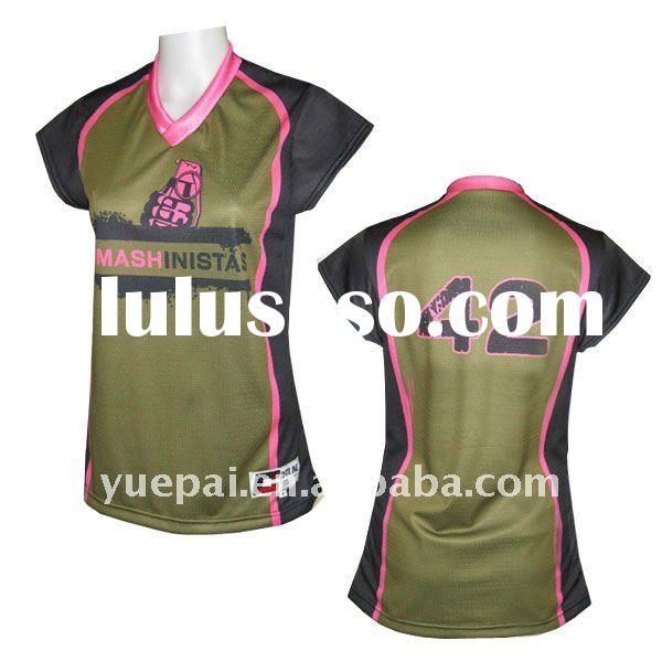 Custom Made Sublimated Volleyball Jersey
