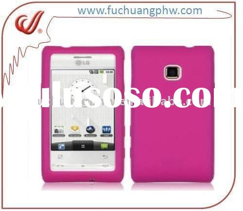 Custom silicon case for LG GT540 Optimus, Cheap ,Nice and durable!!!