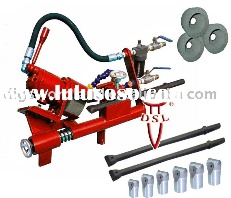 DS-250 Air grinder machine (for Integral rod,chisel bits,button bits sharpening)