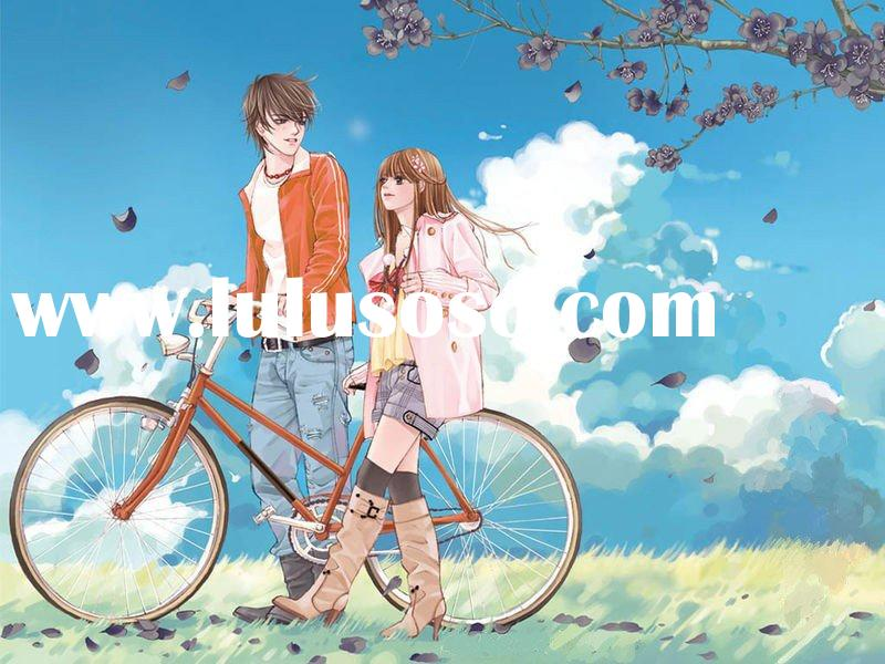 Design animated clip art oil painting design