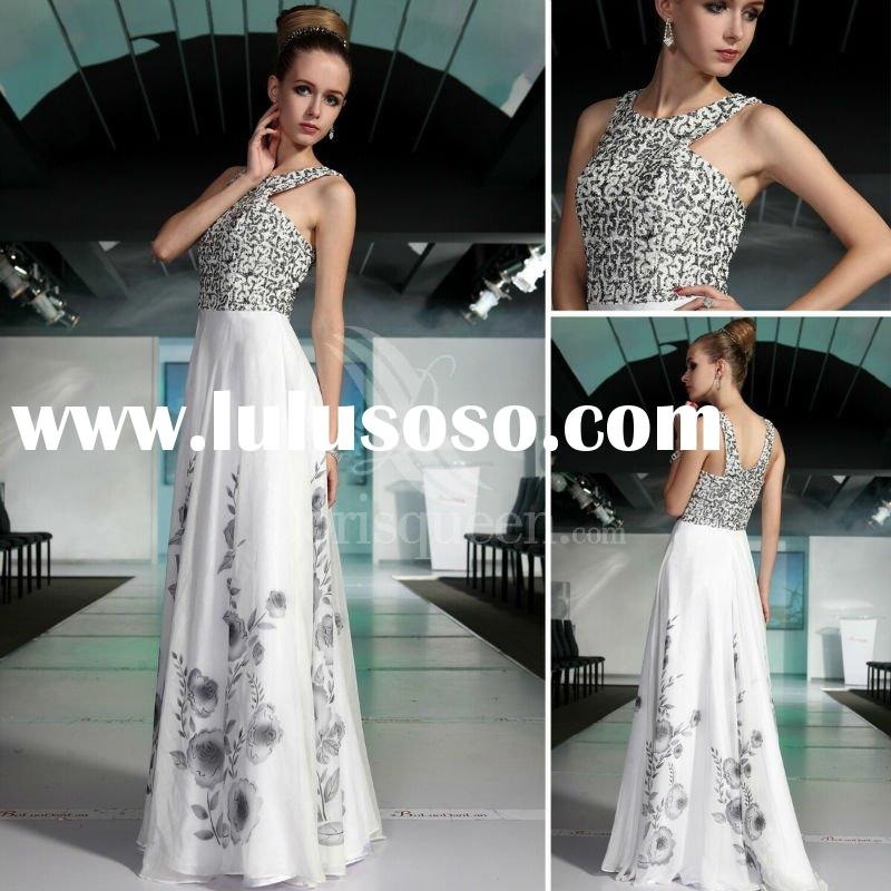 Dorisqueen (DORIS) New Arrival Flower Pattern Evening Prom Gown 2012 NO30531