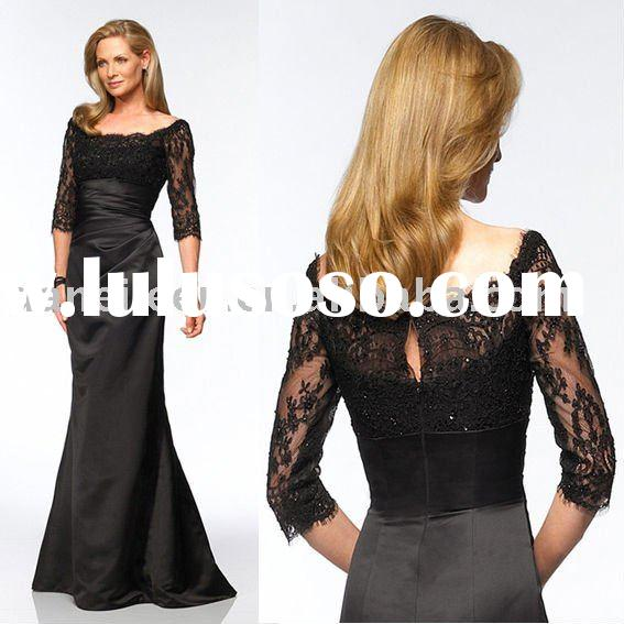 Elegant Long Sleeve Cheap High Quality Evening Wear/Dress,Prom Dress,Bridesmaid Dress-DE-EL0391