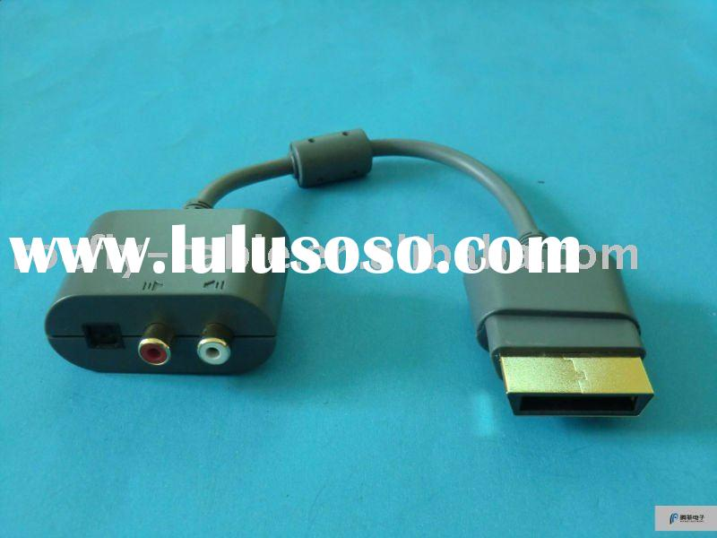 For 360 xbox Optical RCA audio cable adapter