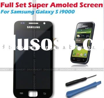 Full Set LCD Digitizer Replacement For Samsung Galaxy S i9000 Super Amoled