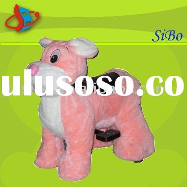 GM5912 animal rides plush animal toys kids toy animal rides toy rides on animal walking animal rides