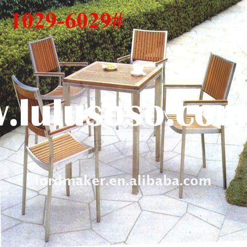 Garden wood furniture paint of outdoor garden wooden chair swing dining set (1029#-6029#)