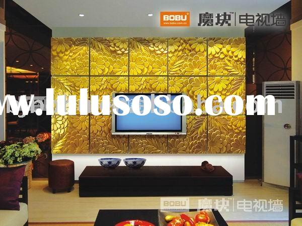 Graceful decorative 3d wall panel
