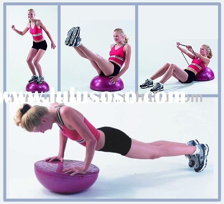 Gym Ball,Fitness Ball,Yoga Ball,Semi-circle Ball,Pilate Ball