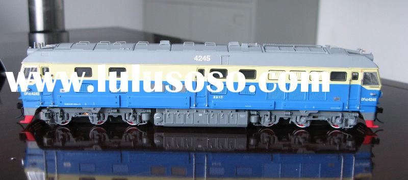 HO scale brass locomotive