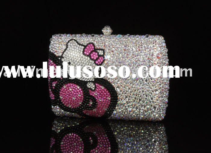 Hello Kitty Bags With Swarovski Crystal (370KT1-1) Paypal