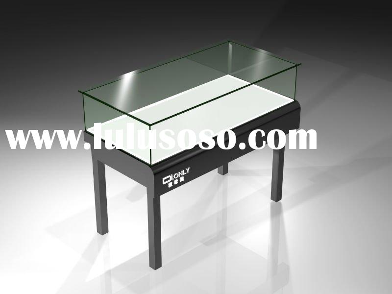 High Quality Sliding Doors Glass Top Display Case