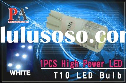 High-power T10 1.5W auto led lighting lamps