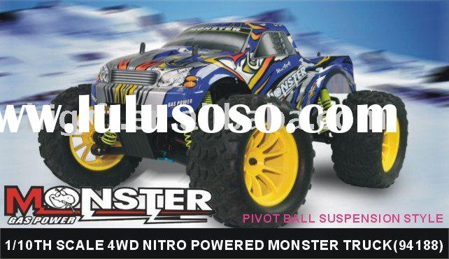 Hispeed 1/10th nitro Off -road racing car/ Nitro Off Road Monster Truck-Pivot Ball Suspension