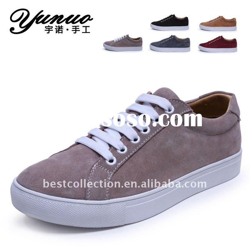 Hot selling men leather casual italian shoes