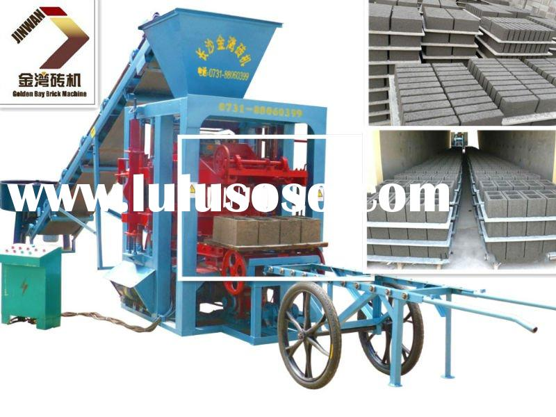 Hottest Sale Small concrete Block Machine with competitive price