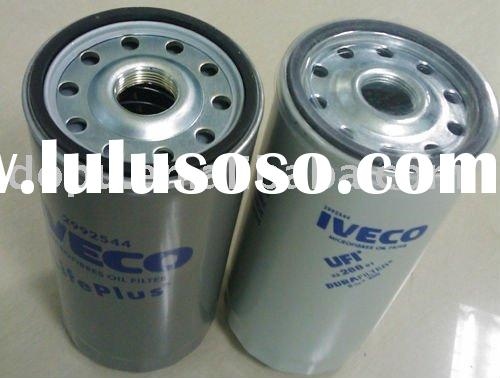 OIL FILTER CROSS REFERENCE LIST