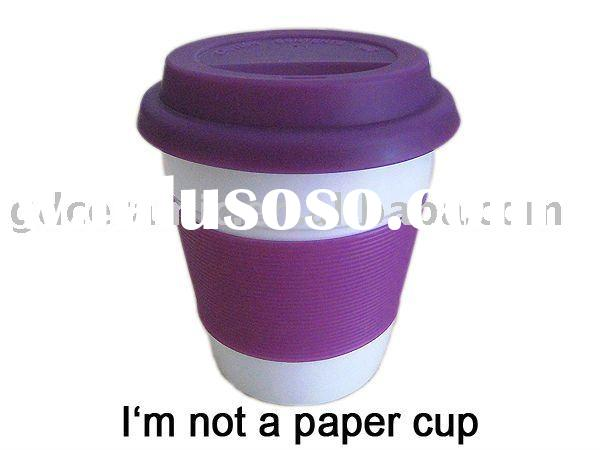 I'm Not A Paper Cup With Silicone Lid