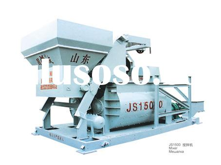 JS1500 Concrete Batching Plant, concrete mixer,portable concrete mixer