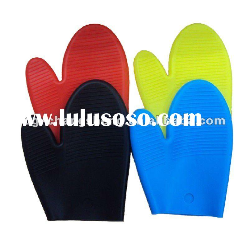 Kitchen silicone glove for oven cooking glove