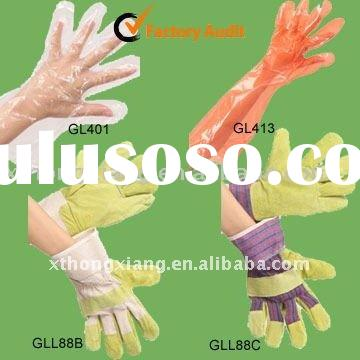 LDPE Gloves, Leather Gloves
