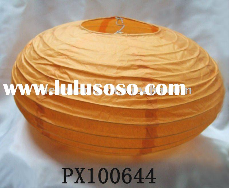 LED Paper Pumpkin Lampshades-hot sale Halloween decoration