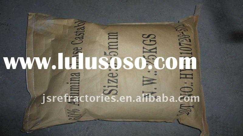 LOW CEMENT HIGH ALUMINA CASTABLE REFRACTORY