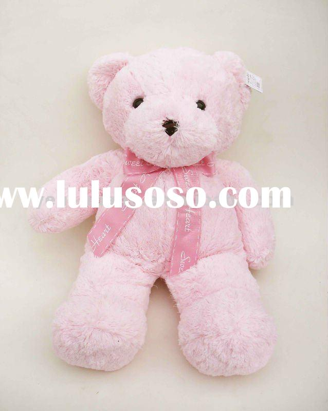 Large pink teddy bear stuffed toys
