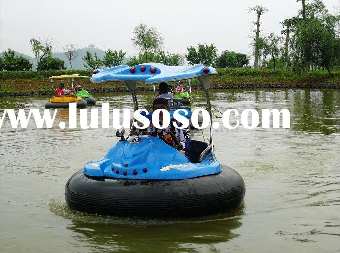 Laser Battery Bumper boat