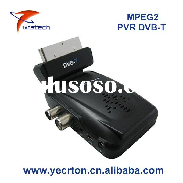MMC/SD/MS mini scart DVB-T Receiver with PVR&LC N