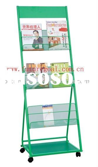 Magazine Display shelf Display rack Display stand