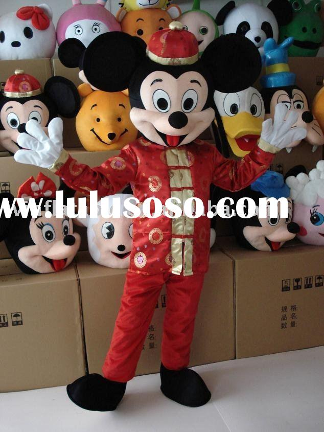 Mickey Mouse character cartoon costume