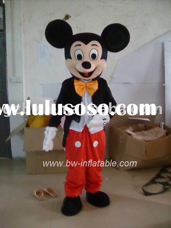 Mickey Mouse costume/character costume/fur costume