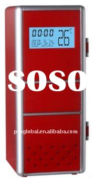 Mini USB Fridge with LCD Display Function (calendar, time and tempreture display)
