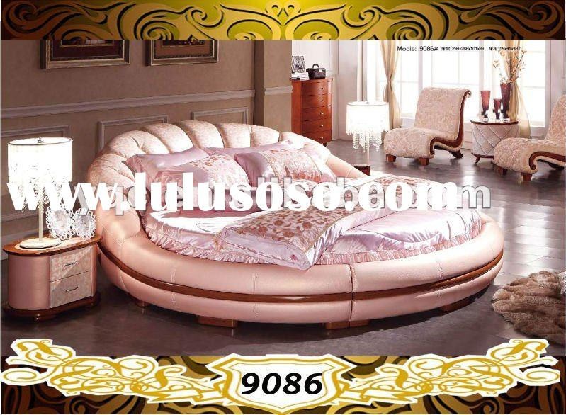 leather wooden bed, leather wooden bed Manufacturers in LuLuSoSo ...