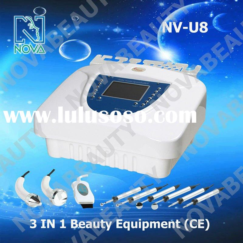 NV-U8 3 in 1 BIO face lift machine ,wrinkle removal device beauty salon equipment (CE Approved)