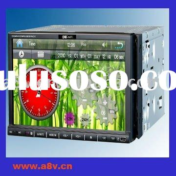 New car pc 2 din dvd gps (FM/TV/AV/USB/SD/DVD)