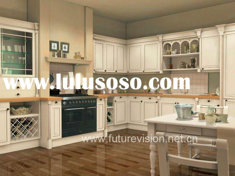 Newest european style kitchen cabinet modular