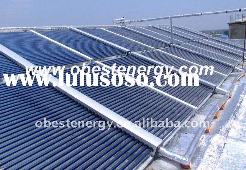 OEP Project No Pressure Solar Collector Water Heating System