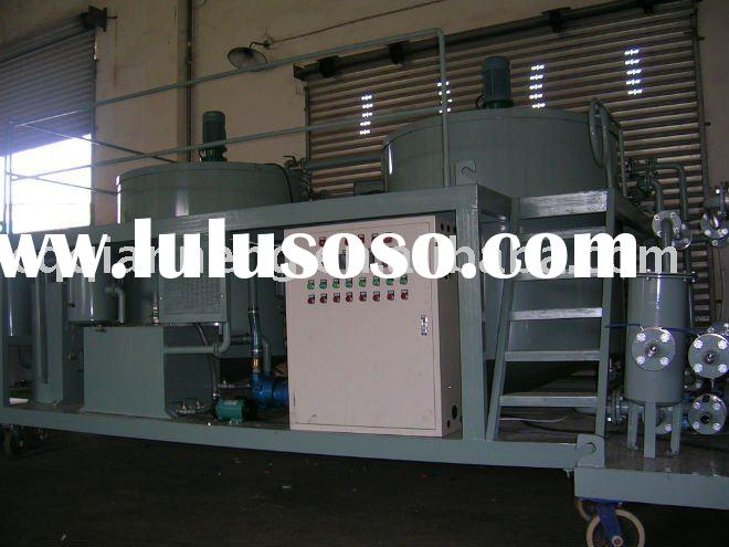 ORS-II used car oil purifier/oil recycling machine/oil filter plant
