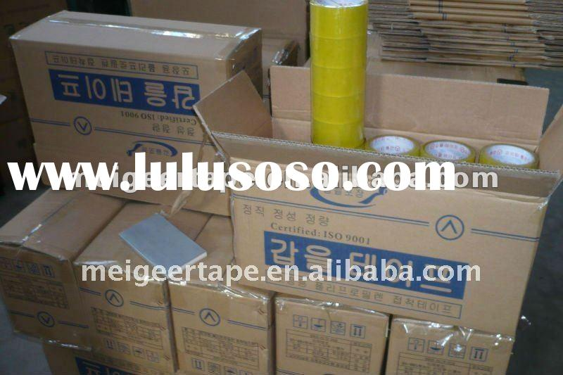 Our Korea Customers' BOPP Packing Tape With High Quality