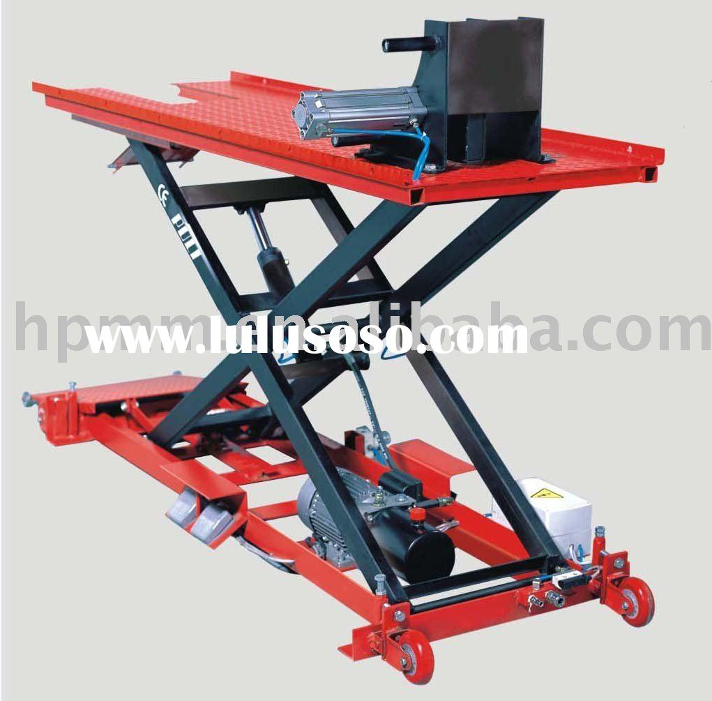 PL-M02 Motorcycle Lift,scissor lift, car lift, auto lift with CE,1100lbs