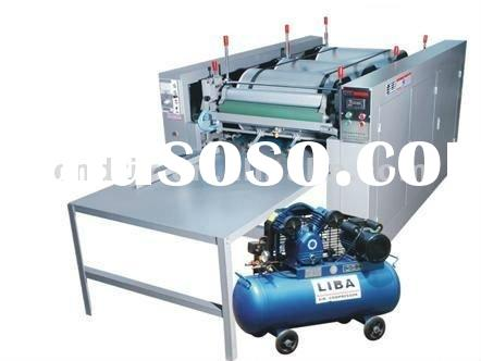 PP woven fabric and non woven fabric bag printing machine