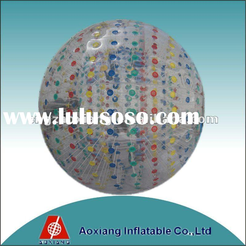 PVC or TPU inflatable Zorb Ball